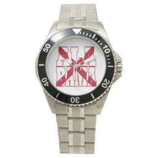 Alabama state flag text watch