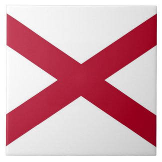 Alabama State Flag Tile
