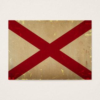Alabama State Flag VINTAGE. Business Card
