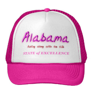 Alabama State of Excellence Trucker Hats