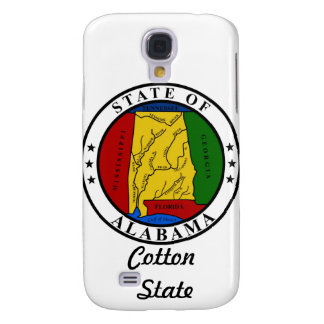 Alabama State Seal and Motto Galaxy S4 Case
