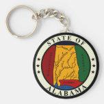 Alabama State Seal Keychain