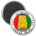 Alabama State Seal Magnet