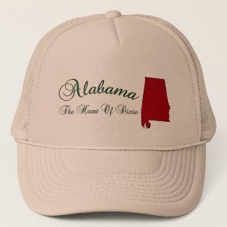 Alabama State Shape Map Baseball Hat