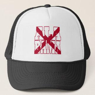 Alabama state text trucker hat