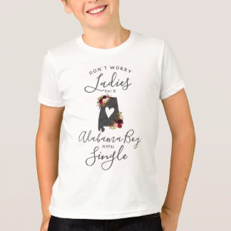 "Alabama State Wedding Ring Bearer ""Still Single"" T-Shirt"