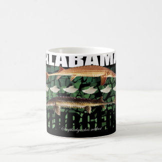 Alabama Sturgeon Collage Mug