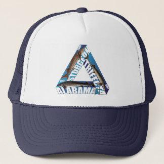 Alabama Sturgeon Trifecta - Blue - Trucker Hat