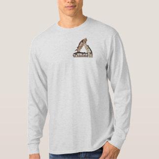 Alabama Sturgeon Trifecta - Brown/Blue - Ash LS T-Shirt