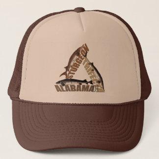 Alabama Sturgeon Trifecta - Trucker Hat