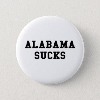 Alabama Sucks 6 Cm Round Badge