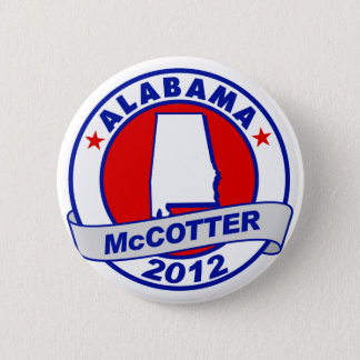 Alabama Thad McCotter 6 Cm Round Badge