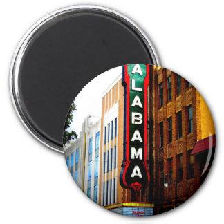 ALABAMA THEATRE - BIRMINGHAM, ALABAMA 6 CM ROUND MAGNET