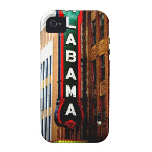 ALABAMA THEATRE - BIRMINGHAM, ALABAMA iPhone 4 CASES