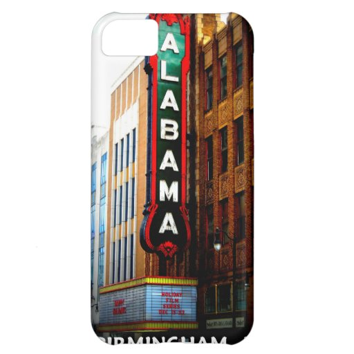 ALABAMA THEATRE - BIRMINGHAM, ALABAMA iPhone 5C CASES