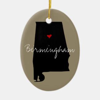 Alabama Town Christmas Ornament