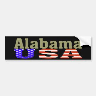 Alabama USA! Bumper Sticker
