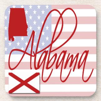 Alabama USA Coasters