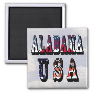 Alabama USA Magnet