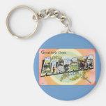 Alabama - Vintage Alabama Travel Key Chain