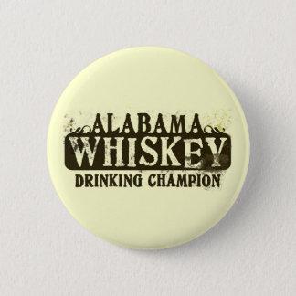 Alabama Whiskey Drinking Champion 6 Cm Round Badge