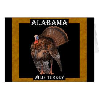 Alabama Wild Turkey (AL, MA, OK, SC) Card