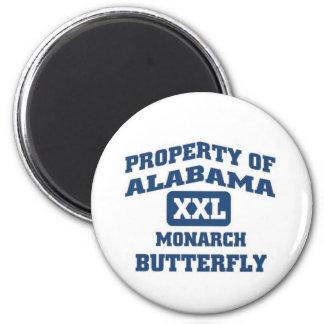 Alabama XXL Monarch Butterfly Fridge Magnets