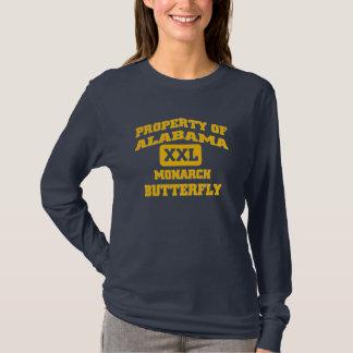 Alabama XXL Monarch Butterfly T-Shirt