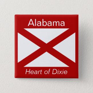 Alabaman Flag Button