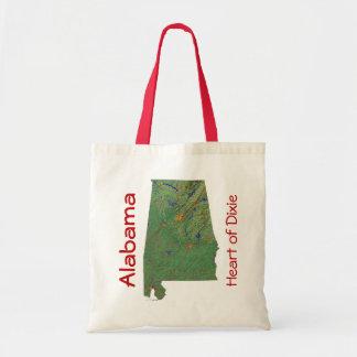Alabaman Map Bag