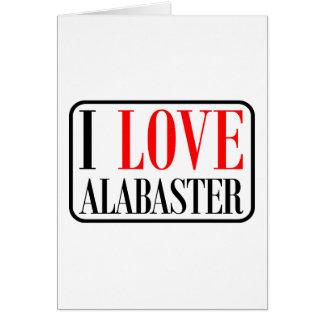 Alabaster, Alabama City Design Greeting Card