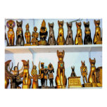 Alabaster Egyptian Figurines(1) Poster