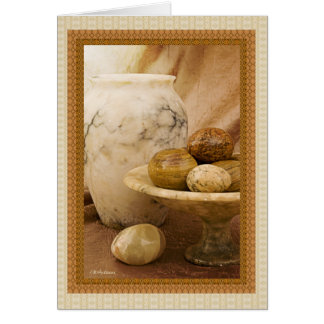 Alabaster objects card