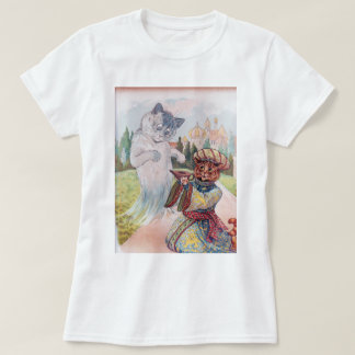 Aladdin and the Magic Lamp, Louis Wain T-Shirt