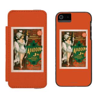Aladdin Jr. Tale of a Wonderful Lamp Theatre 2 Incipio Watson™ iPhone 5 Wallet Case