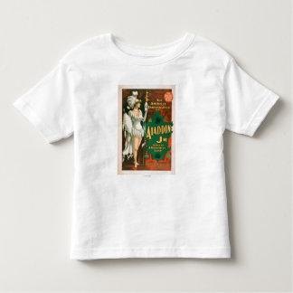 Aladdin Jr. Tale of a Wonderful Lamp Theatre 2 Toddler T-Shirt