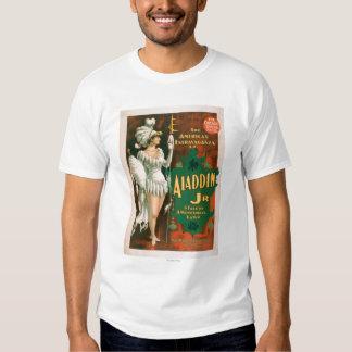 Aladdin Jr. Tale of a Wonderful Lamp Theatre 2 Tshirts