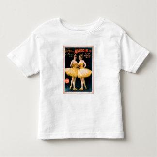 Aladdin Jr. Tale of a Wonderful Lamp Theatre Toddler T-Shirt