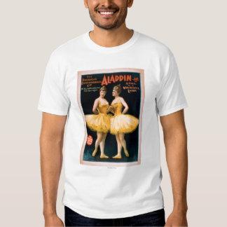 Aladdin Jr. Tale of a Wonderful Lamp Theatre Tshirt