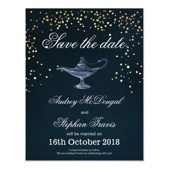 ALADDIN SAVE THE DATE CARD