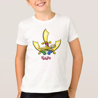 Aladdin, Swords, Lamp T-Shirt