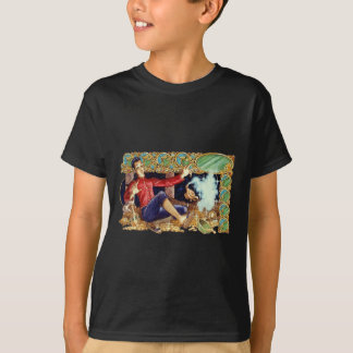 Aladdin's Lamp  Kids Dark T-Shirt