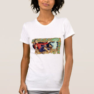 Aladdin's Lamp Ladies T-Shirt