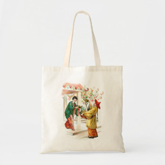 Aladdin's Lamp Budget Tote Bag