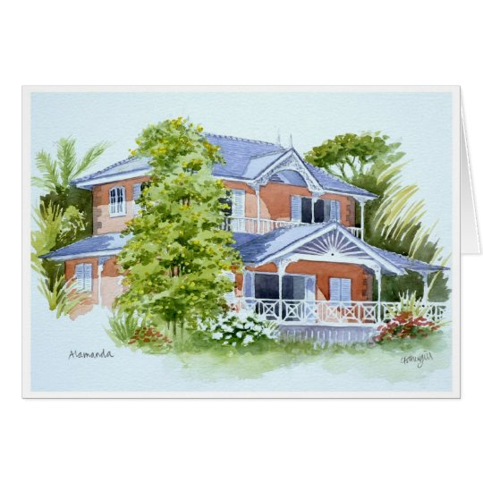 Alamanda, Stonehaven Bay. Tobago Card