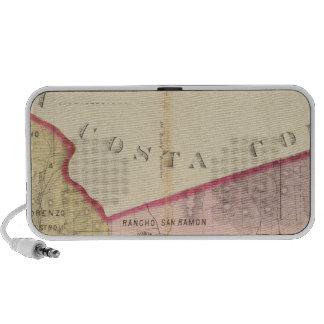 Alameda County map iPod Speakers