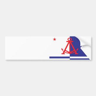 Alameda flag bumper sticker