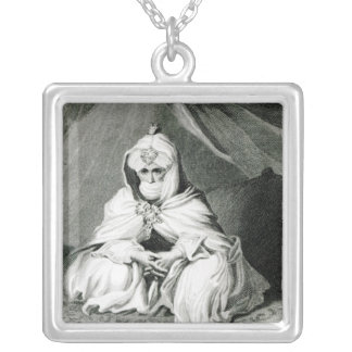Alameen Ben Mohammed Square Pendant Necklace