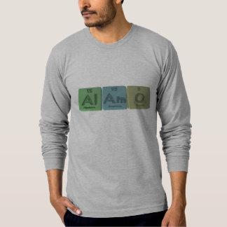 Alamo-Al-Am-O-Aluminium-Americium-Oxygen T Shirts