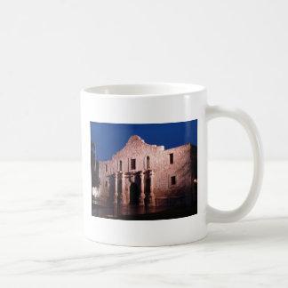Alamo at Night Coffee Mugs